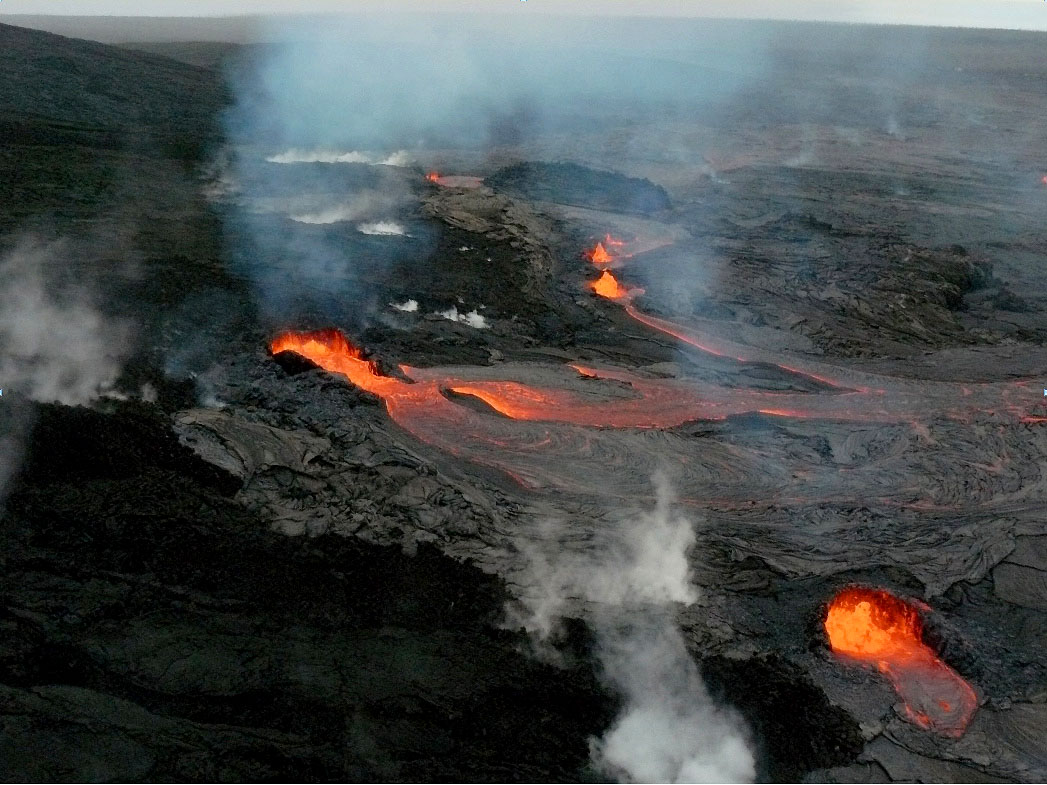Recreational Volcanology Eruptive Activity Eases At Kilauea Volcano In Hawaii