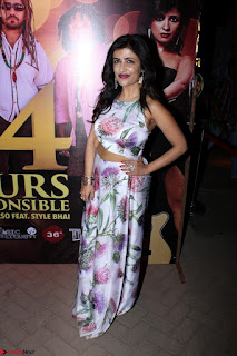 Shibani Kashyap Launches her Music Single led 24 Hours Irresponsible 021.JPG