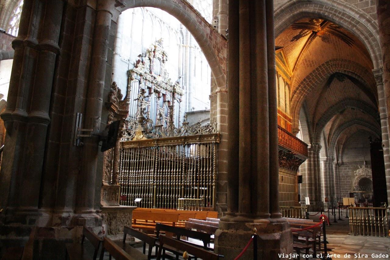 Coro Catedral Ávila Órganos