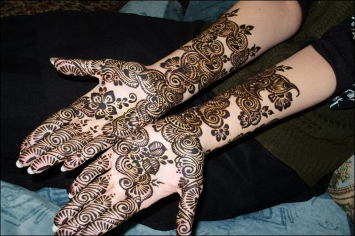 Design of mehendi