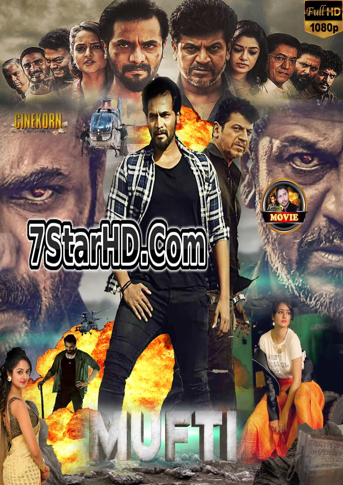 Mufti 2018 Hindi Dubbed 720p HDRip Will be Available on 7StarHD