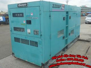 máy phát điện công nghiệp denyo