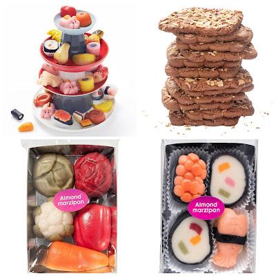 hema snoep marsepein sushi fruit koekjes sinterklaas sint