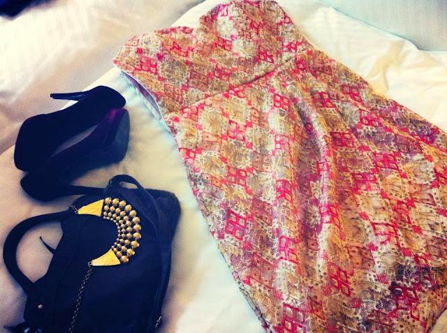 güpür party dress