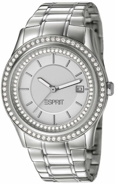 Esprit Timewear Opera of Allure - Double Twinkle Silver Watch price india
