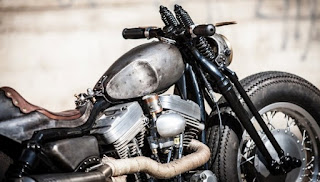 sportster bobber old school el cochino