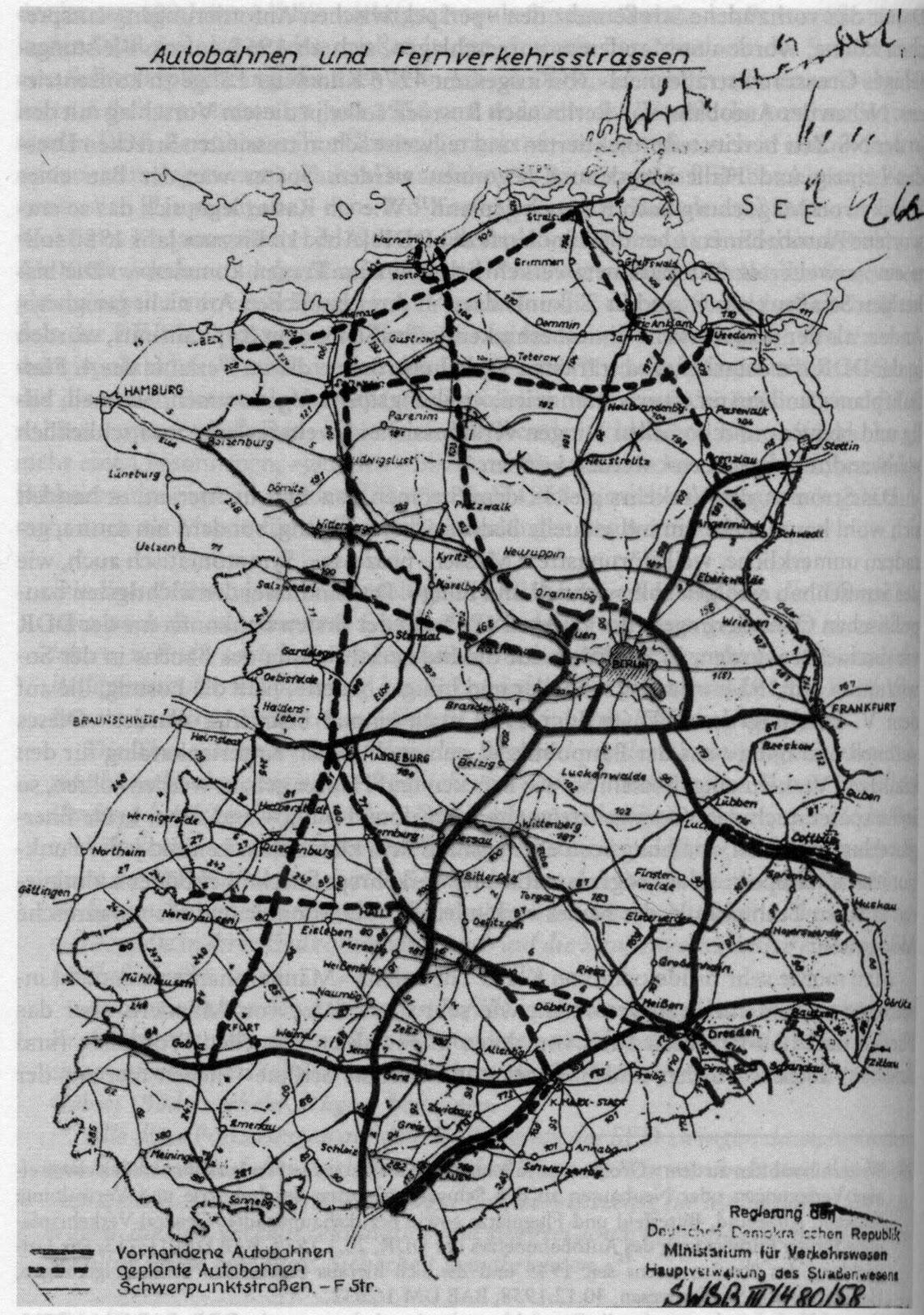 Technik Autobahnkarten Historische Landkarten
