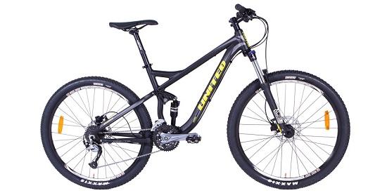 harga sepeda united terbaru