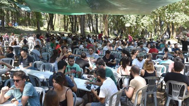 Γιάννενα: Το Γιαννιώτικο σαλόνι, φιλοξενεί την κατασκήνωση του 26ου Αντιιμπεριαλιστικού Διημέρου της ΚΝΕ