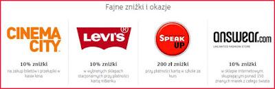 mBank, eKonto m, atrakcyjne zniżki i promocje