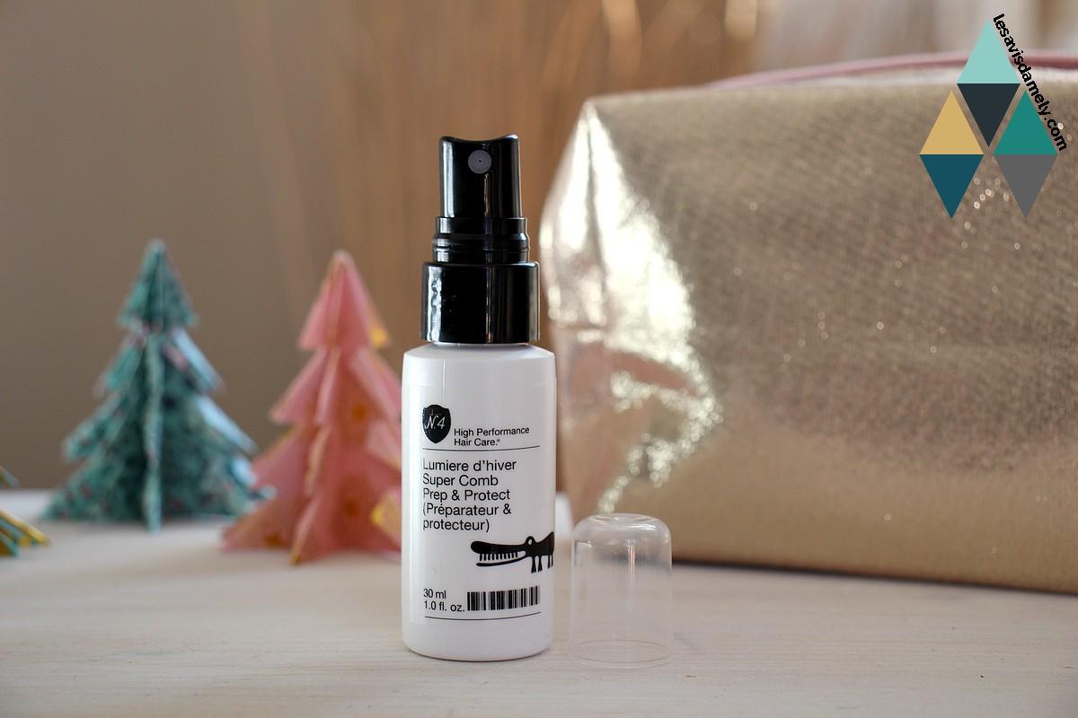 spray cheveux super comb prep & protect lumière d'hiver Number 4