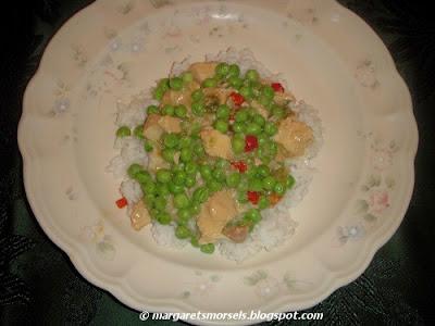 Margaret's Morsels | Crock-Pot Chicken a la King