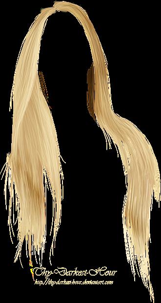 editing material hair