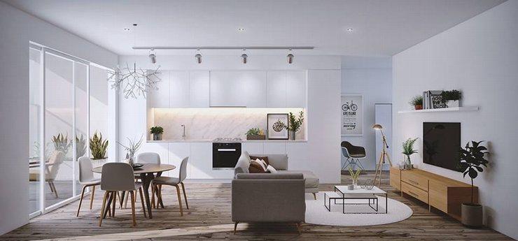 thiết kế thi công nội thất nhà bếp độc đáo 3