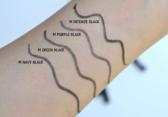 Shu Uemura  Lasting Soft Gel Pencil Swatch Review