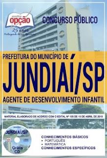 Apostila da Prefeitura de Jundiaí - Agente de Desenvolvimento Infantil