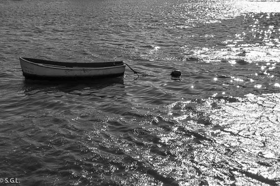 Barca en reto 5 fotos en blanco y negro