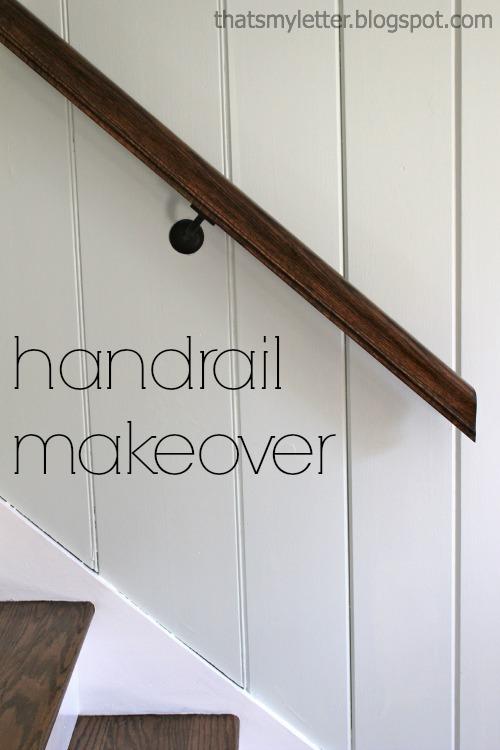 Diy Handrail Makeover