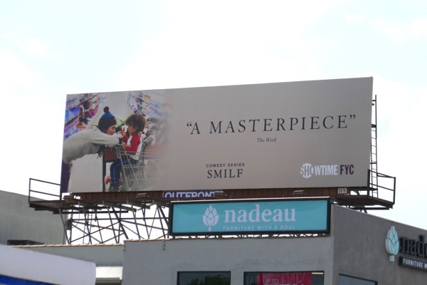 SMILF season 1 Emmy FYC billboard