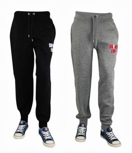 Hard-Working Mens Fleece Jog Pants Jogging Bottoms Trousers Joggers Cuffed Hem Zip Pockets Matching In Colour Men's Clothing