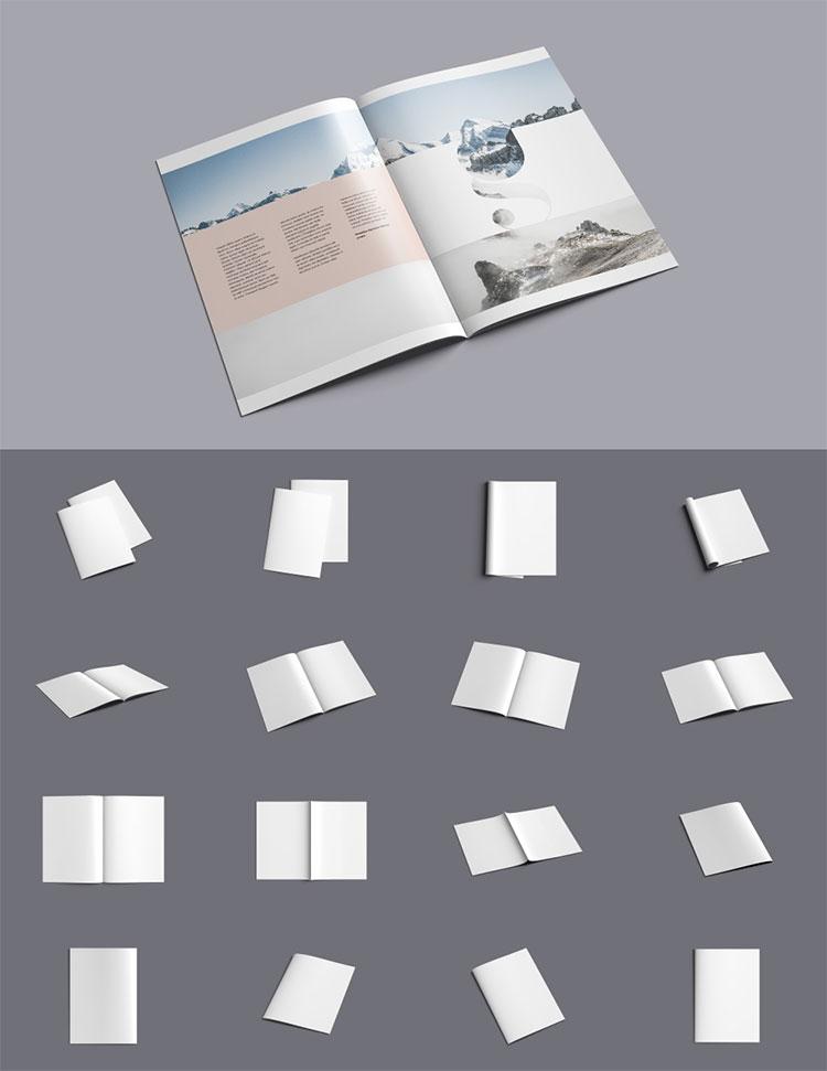 A4 Psd Brochure Mockup
