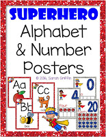 https://www.teacherspayteachers.com/Product/Superhero-Alphabet-and-Number-Posters-Bundle-2696788