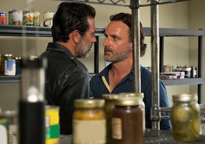 Negan ricorda nuovamente a Rick chi comanda