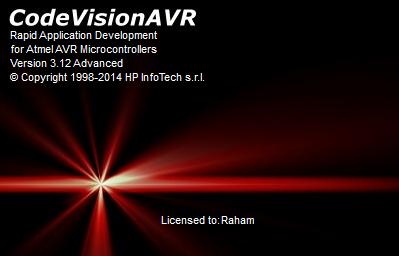 Phần mềm CodeVisionAVR 3.12