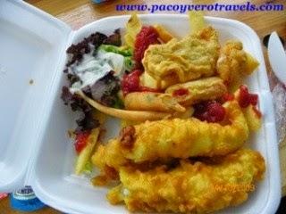 donde comer de viaje en akaroa