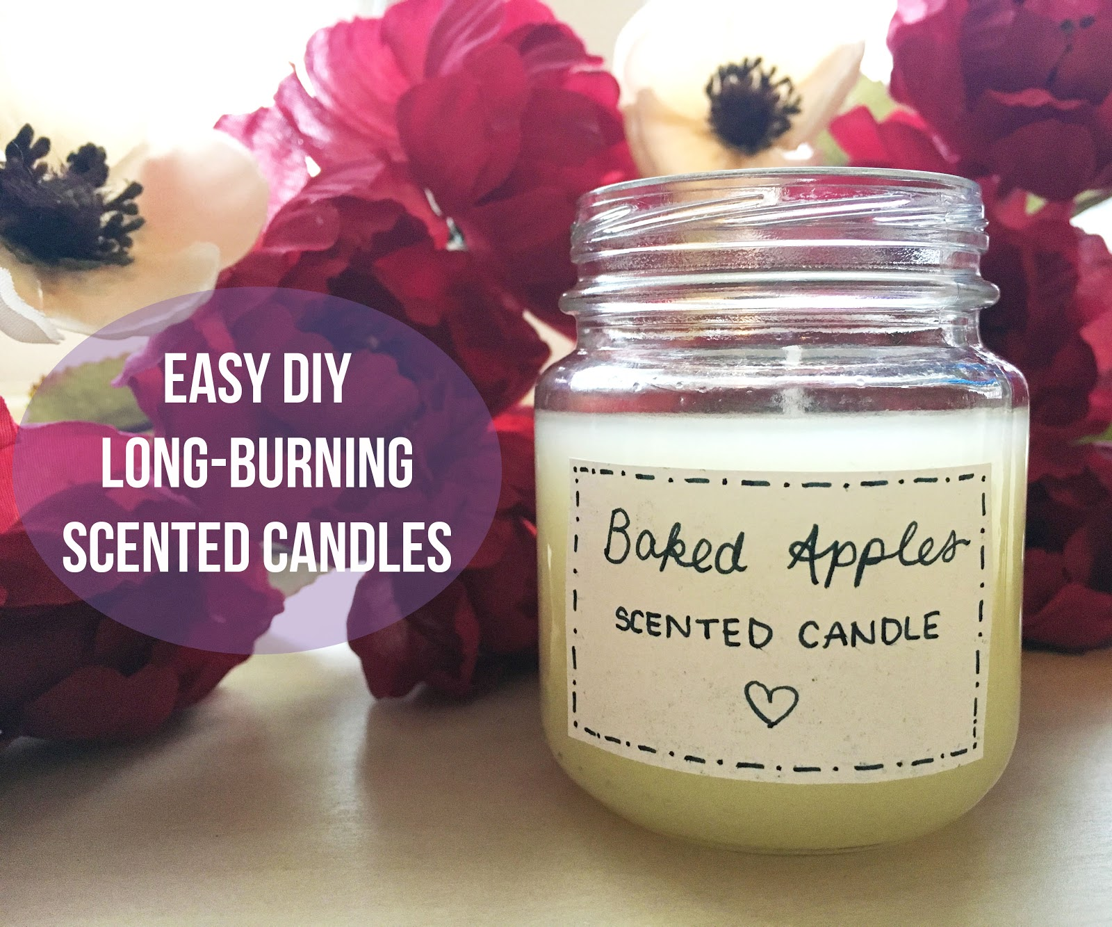 Easy DIY Long-Burning Scented Candles | Akinokiki