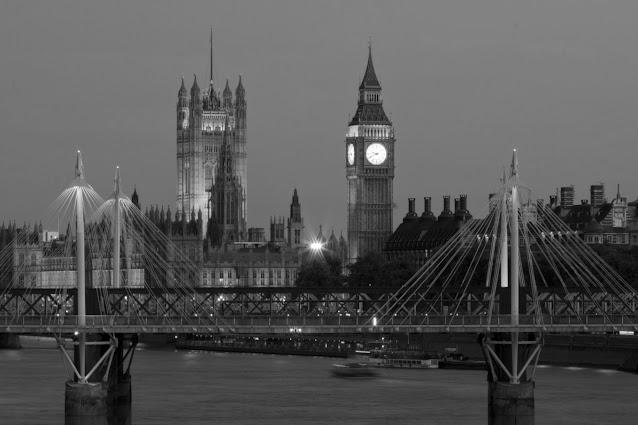 Vista su Westminster-Londra