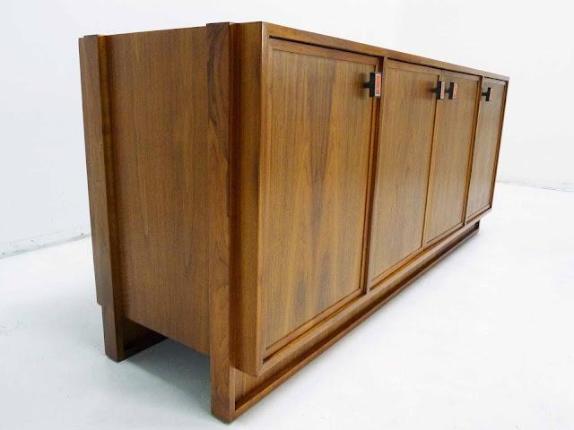 Modernist Mid Century Walnut Sideboard Frank Kyle 3
