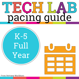 It can be challenging to know what to teach and when in the computer lab. Six different grade levels, rotating schedules, standards that are complex. No wonder many new tech teachers end up teaching the same lesson 6 different ways when they first get started. I was one of them.