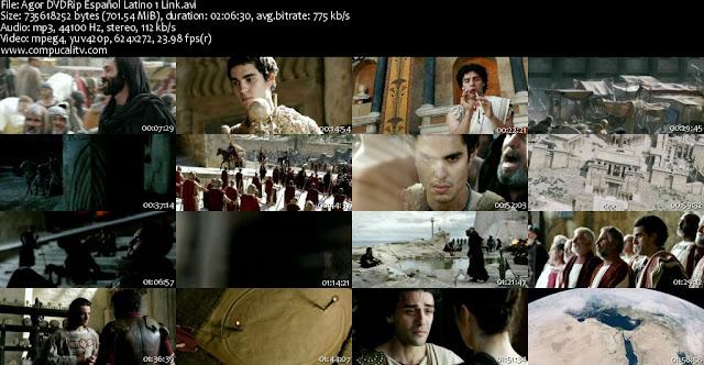 Agora (2009) DVDRip Español Latino