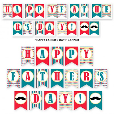 graphic about Happy Father's Day Banner Printable titled 20 Absolutely free Fathers Working day Printables: Very last Moment Playing cards, Items