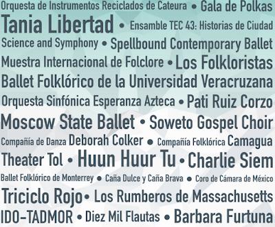 artistas festival santa lucia 2016