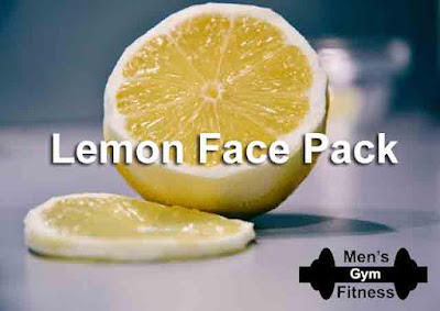 8 Homemade Face Pack Will Make Your Face Glowing & Oil Free In Summer:- Lemon Face Pack