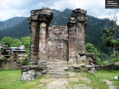 2000 years old fort at Sharda, Neelam Valley, Azad Kashmir, Pakistan, Photography by Shahzil Rizwan