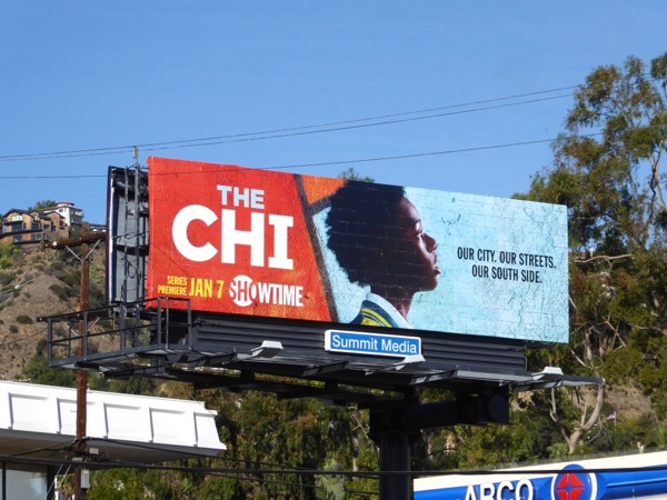 The Chi season 1 billboard