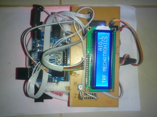 Autonomous line follower robot with arduino uno