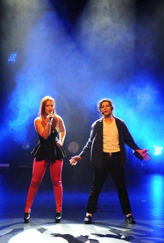 Delfim Miranda - Michael Jackson Tribute - Duet - I Just Can't Stop Loving You