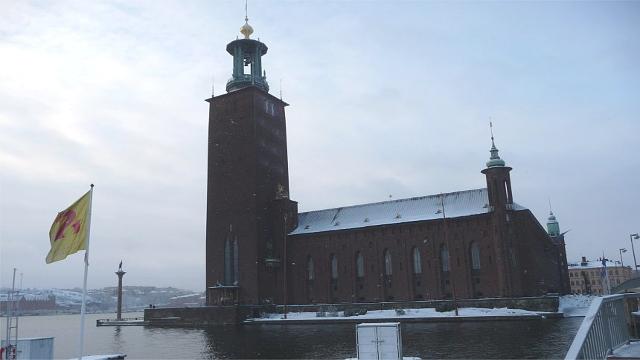 Lo Stadshuset di Stoccolma
