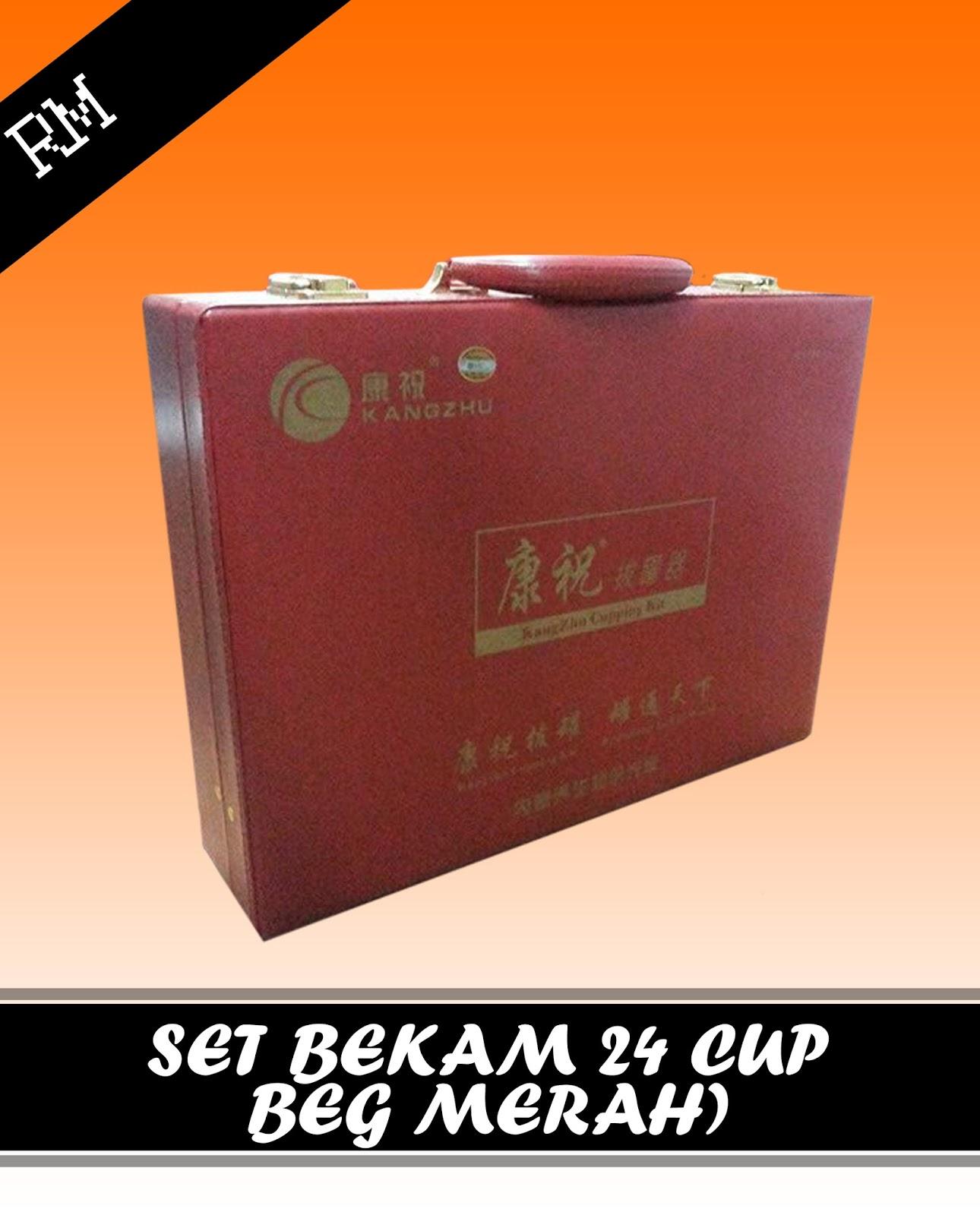 One Stop Muslim Shop Kangzhu Kop Kang Zhu 12 Set Bekam Cup