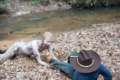 Carl and the swamp walker