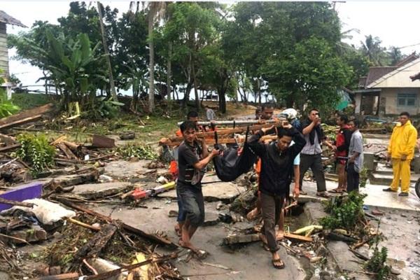 Gunung Anak Krakatau Ternyata Kolaps, BMKG Memastikan Penyebab Tsunami Selat Sunda