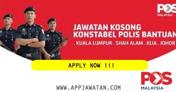 Konstabel Polis Bantuan