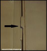 Πώς μπορούμε να σταματήσουμε να τρίζουν οι παλιοί μεντεσέδες από τις πόρτες,τα παλιά ντουλάπια ή οι παλιές συρόμενες πόρτες;