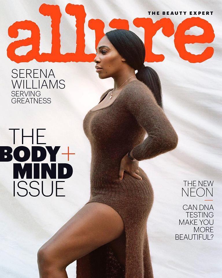 Serena Williams for Allure US February 2019