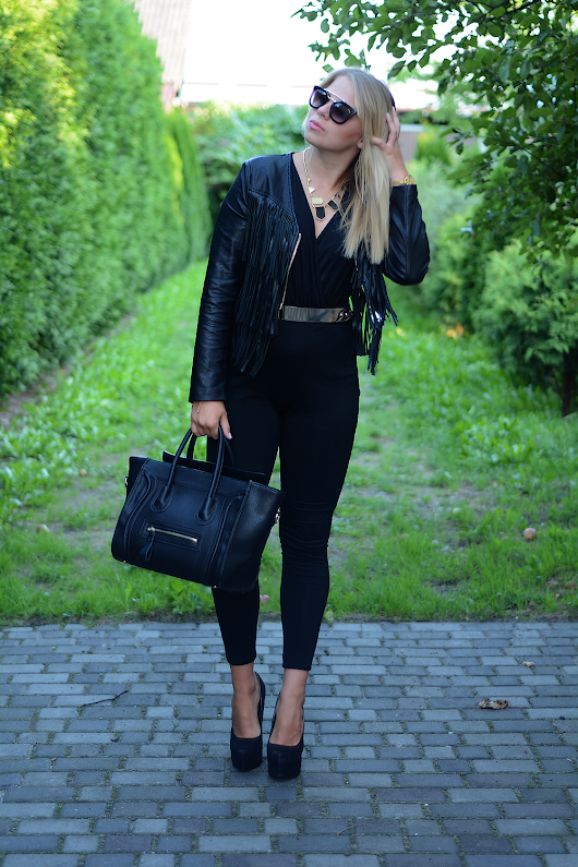 JUMPSUIT - total black | DiaDolos