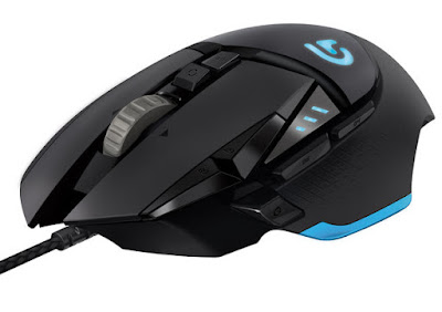 Mouse Gaming CSGO Terbaik 2017 - Logitech G502 - 30kbps